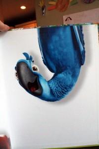 Blu Hanging Down