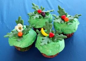 Rio Party Cupcakes