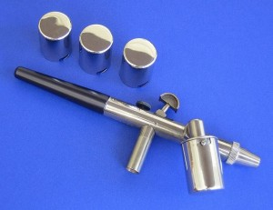 Photograph of an airbrush