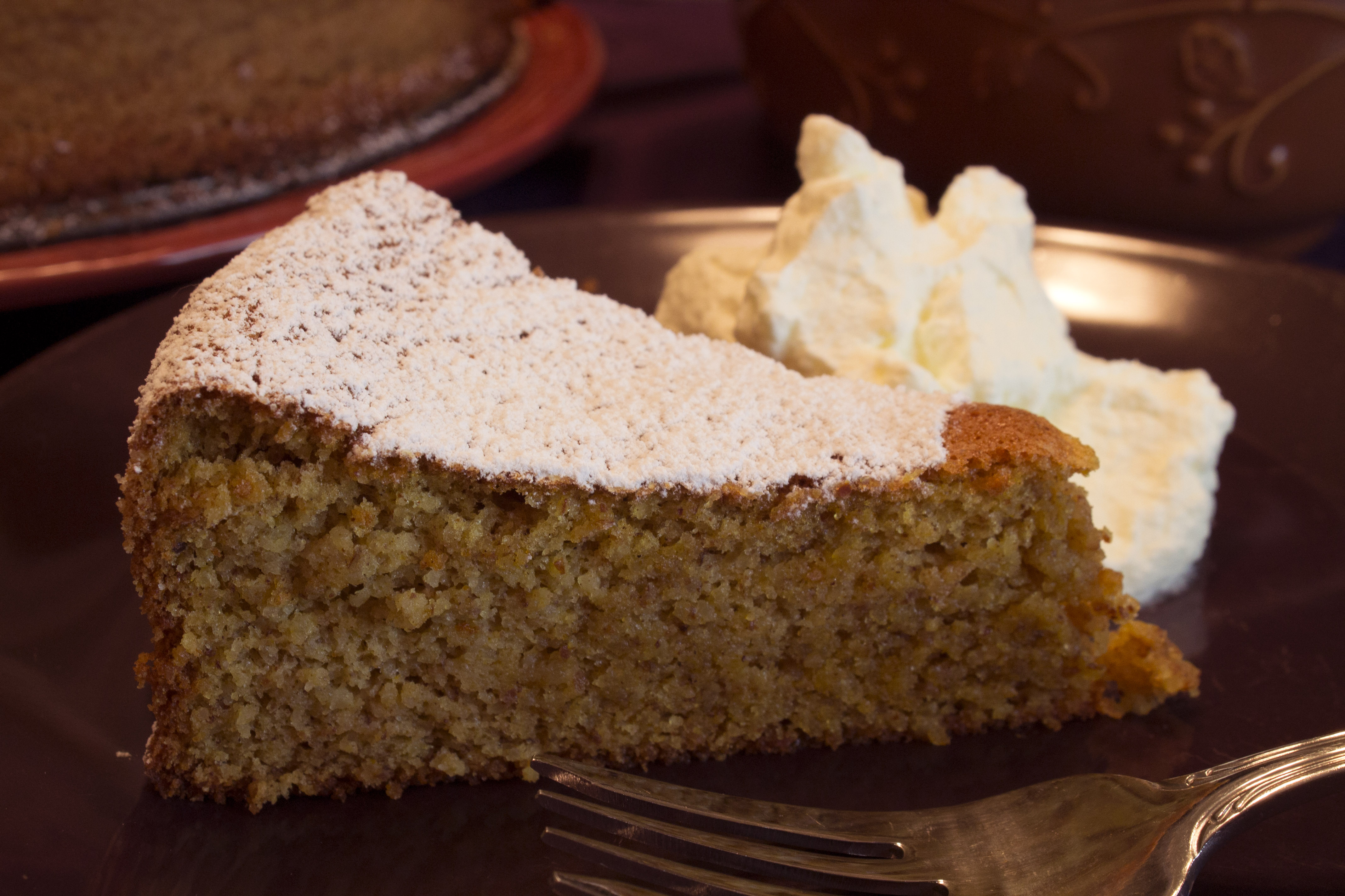 Gluten-Free Pumpkin Almond Cake with Cream Cheese Whipped ...