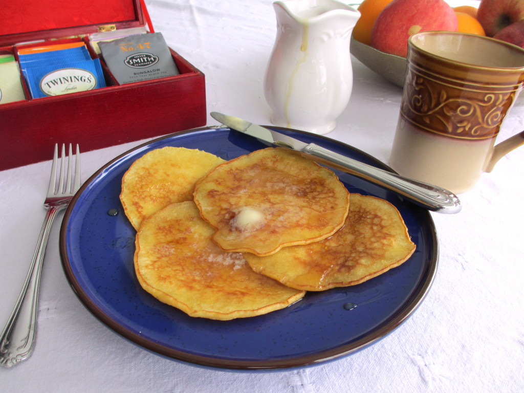 Brown Butter Cornmeal Pancakes Recipe